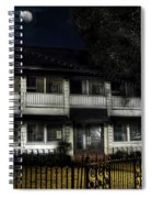 Haunted Hotel Spiral Notebook