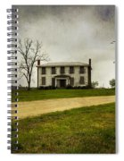Haunted House On A Hill Spiral Notebook
