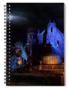 Haunted Mansion At Walt Disney World Spiral Notebook