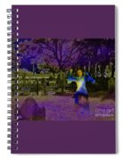Haunted Night Spiral Notebook