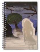 Haunted Playground  Spiral Notebook