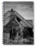 Haunted School House Spiral Notebook