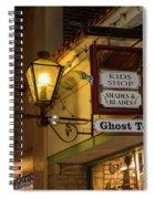 Haunted St. Augustine Spiral Notebook
