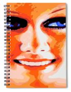Haunting Harlow Spiral Notebook
