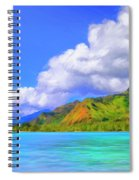 Hauru Point Moorea Spiral Notebook
