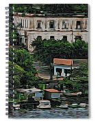 Havana Boats In A Row Spiral Notebook