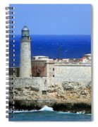 Havana Harbor Lighthouse Spiral Notebook