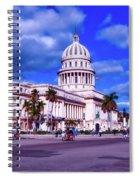 Havana National Capitol Spiral Notebook