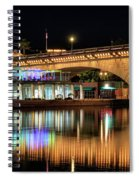 Havasu At Night Spiral Notebook