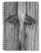 Have A Nice Day Bw Spiral Notebook