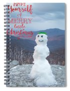 Have A Very Merry Christmas Spiral Notebook