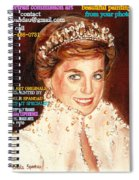 Have Your Portrait Painted Contact Carole Spandau 30 Years Experience Spiral Notebook