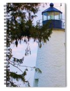 Havre De Grace Lighthouse Spiral Notebook