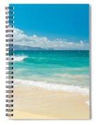 Hawaii Beach Treasures Spiral Notebook