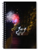 Hawaii Fireworks Spiral Notebook