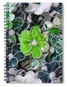 Hawaii Hair Flowers Spiral Notebook