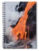 Hawaii Lava Spiral Notebook