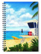 Hawaii North Shore Banzai Pipeline Spiral Notebook