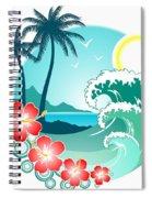 Hawaiian Island 2 Spiral Notebook