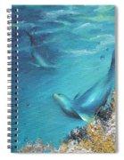 Hawaiian Monk Seals Spiral Notebook