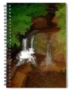 Hawaiian Stream Spiral Notebook