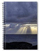 Hawaiian Sunrise Spiral Notebook