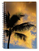 Hawaiian Sunset Hanalei Bay 5  Spiral Notebook