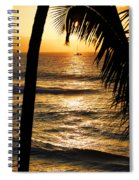 Hawaiin Sunset Spiral Notebook