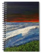 Hawiian View Spiral Notebook