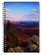Hawk Mountain Pennsylvania Spiral Notebook