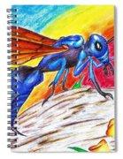 Hawk Wasp Spiral Notebook