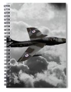 Hawker Hunter Spiral Notebook