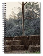 Hay , Open Seating  Spiral Notebook