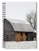 Hay Barn Spiral Notebook