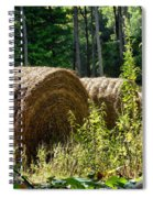 Hay Bay Rolls Spiral Notebook