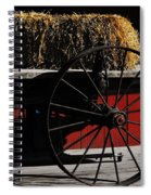 Hay On Wheels Spiral Notebook