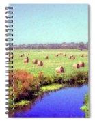 Hay Rolls Spiral Notebook