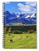 Hay With A View Spiral Notebook