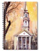 Hayes Barton Church Raleigh Nc Spiral Notebook
