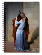 Hayez, The Kiss Spiral Notebook