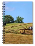 Haying The Field 1 Spiral Notebook