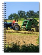 Haying The Field 3 Spiral Notebook