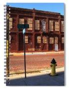Hays, Kansas - 12th Street Spiral Notebook