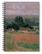 Haystack At Giverny Spiral Notebook