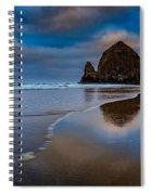 Haystack Dawn Spiral Notebook