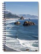 Haystack In The Distance II Spiral Notebook