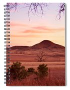 Haystack Mountain - Boulder County Colorado -  Sunset Evening Spiral Notebook