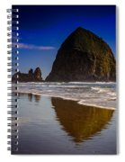 Haystack Reflection Spiral Notebook