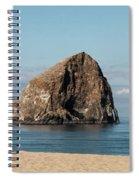 Haystack Rock - Pacific City Oregon Coast Spiral Notebook