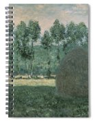 Haystacks Near Giverny Spiral Notebook